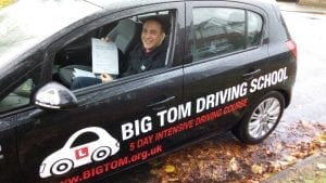 Driving test pass in Peterborough